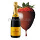 Champagne & Strawberry Gift Baskets Delivered Same Day