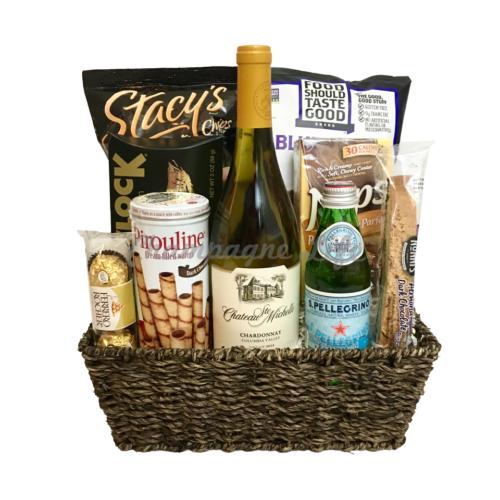 Gluten free gourmet snacks gift basket gourmet goodies wine basket negle Gallery