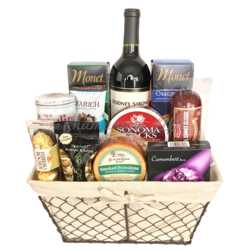 Champagne life gift baskets vegas 1 same day gift basket delivery deluxe wine and cheese gift basket negle Choice Image