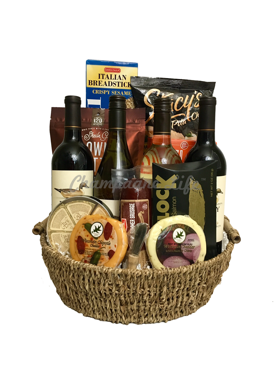 Get Well Food Basket Delivery