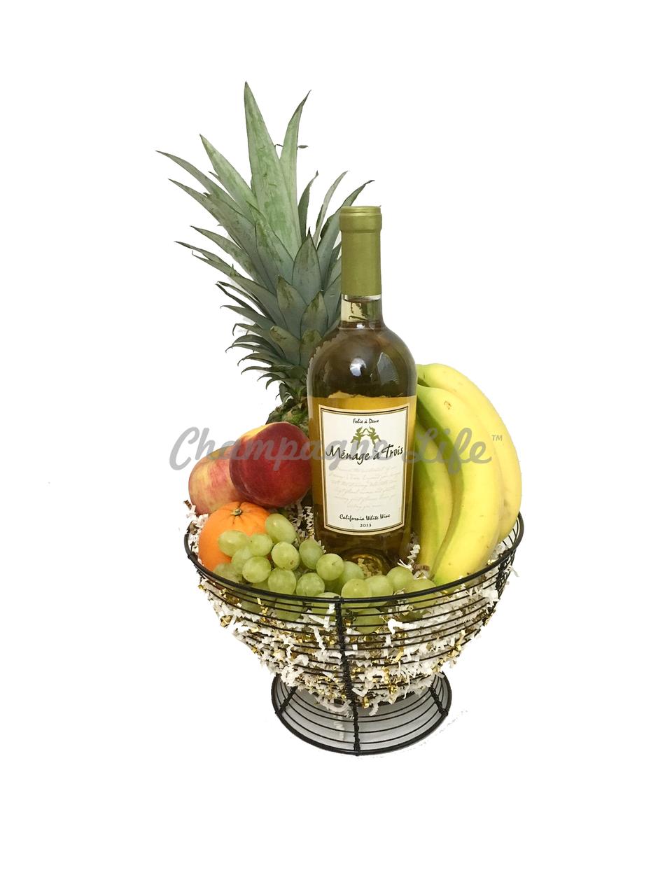 Food Basket Gifts For Christmas