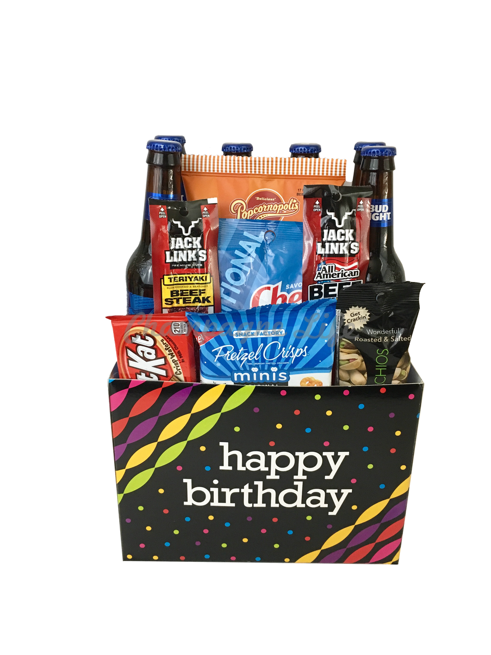 Birthday Beer Box Champagne Life Gift Baskets