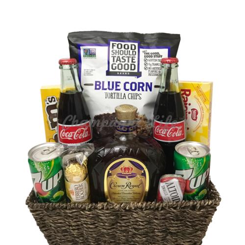 Grey goose gift basket champagne life gift baskets crown royal gift basket solutioingenieria Choice Image