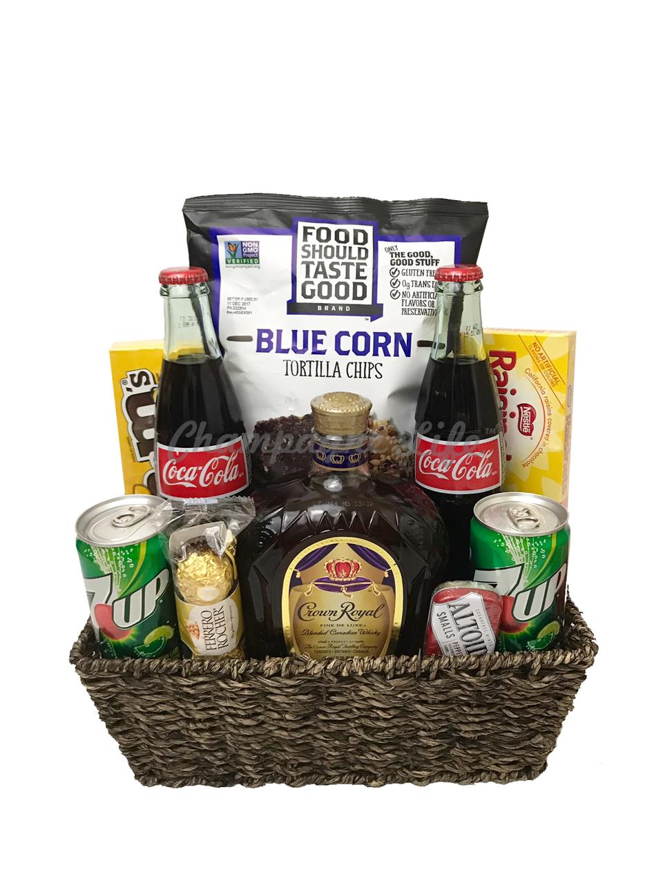 Crown Royal Gift Basket  sc 1 st  Ch&agne Life Gift Baskets & Crown Royal Gift Basket - Champagne Life Gift Baskets