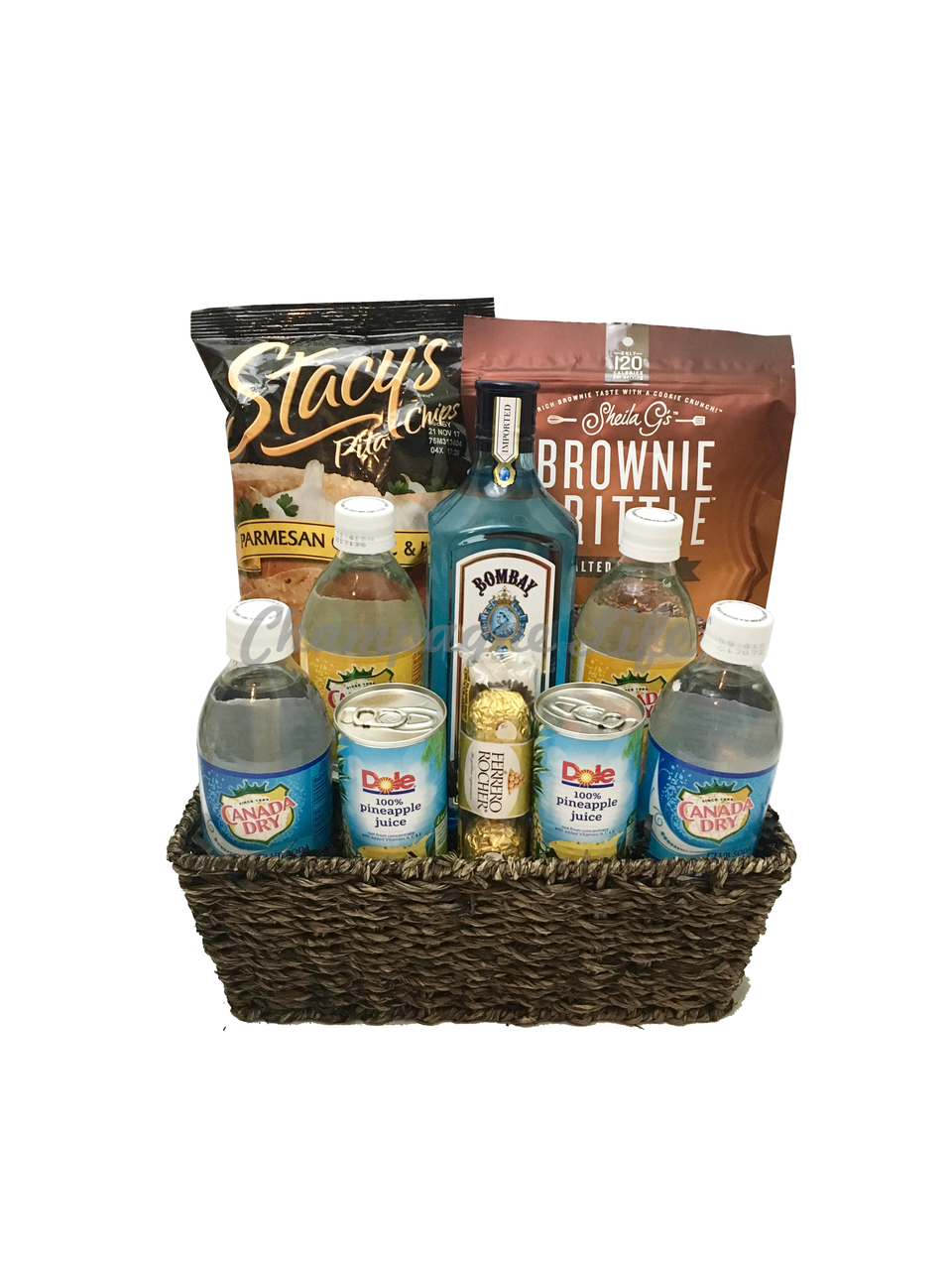 Liquor Gift Baskets Delivered - Gift Ftempo