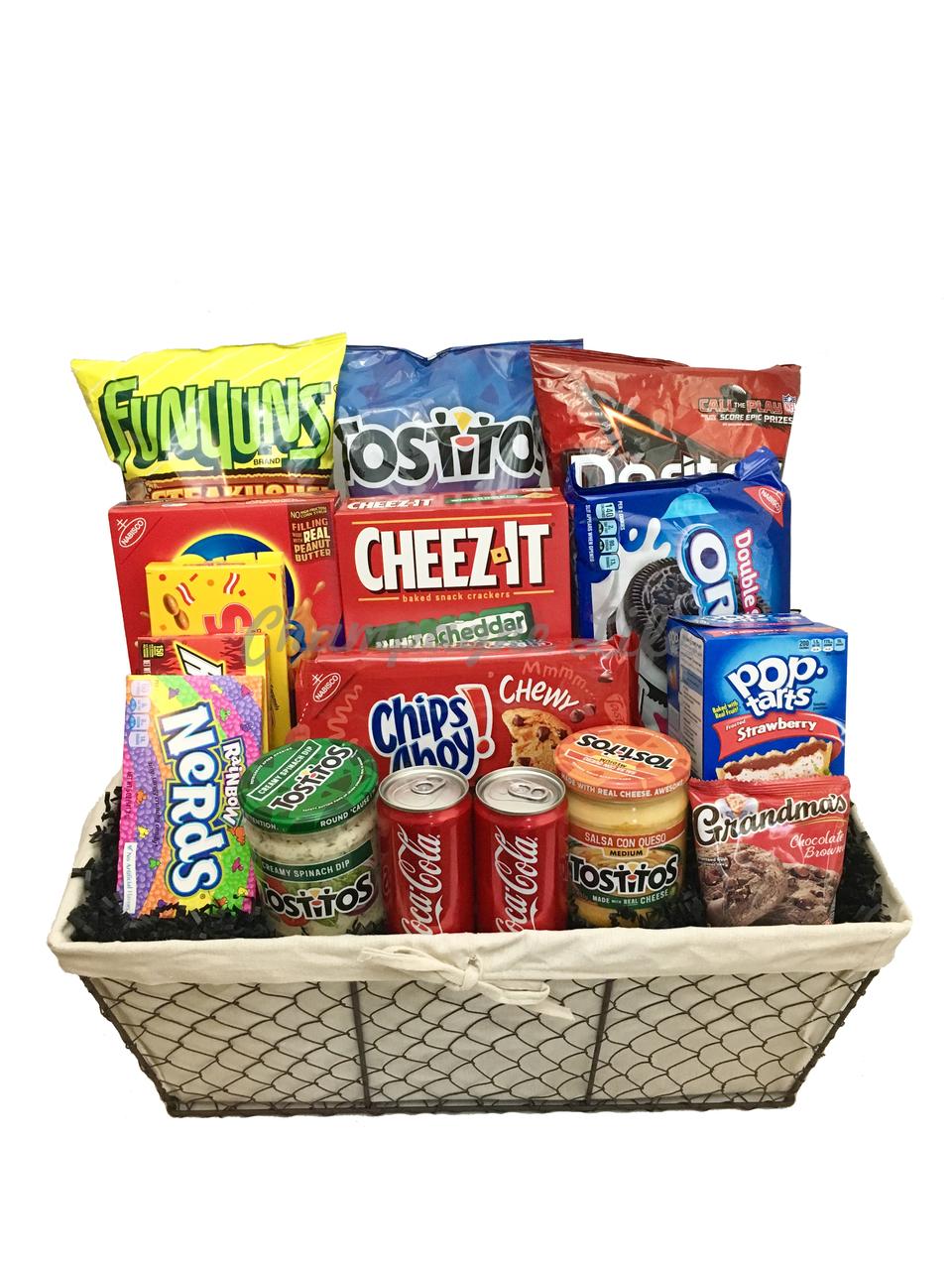 Jumbo Junk Food Gift Basket