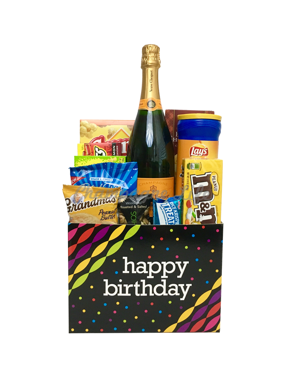 Veuve Clicquot Birthday Gift Basket