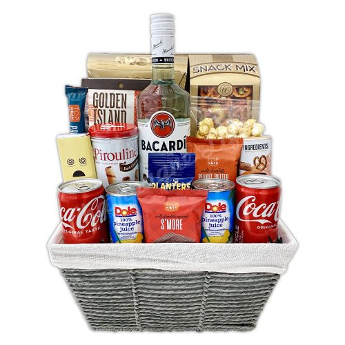 Champagne Life - Bacardi Gift Basket