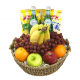 Champagne Life - Fresh Fruit and Snacks Gift basket