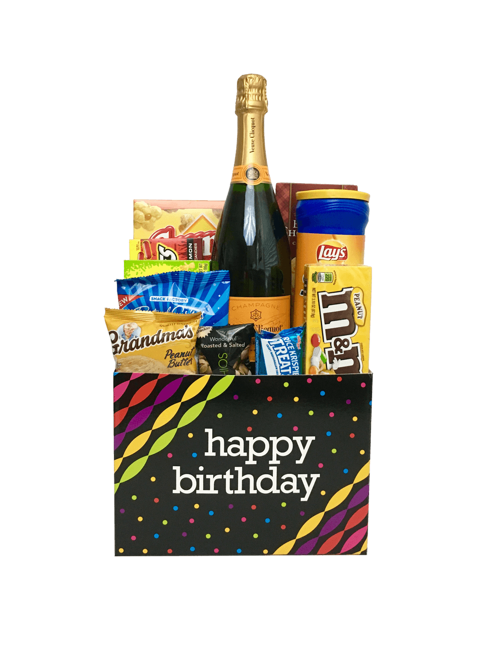 Employee Appreciation Champagne Life Gift Baskets