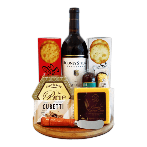 Wine and Cheese Board Gift Set
