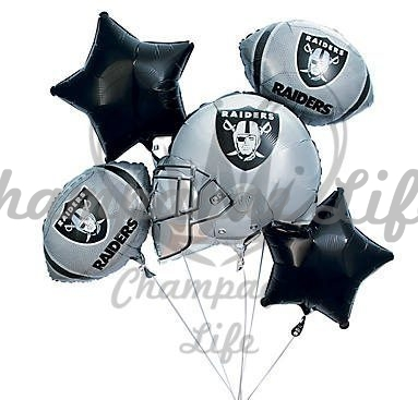 NFL Las Vegas RaidersTM Mylar Balloon Bouquet