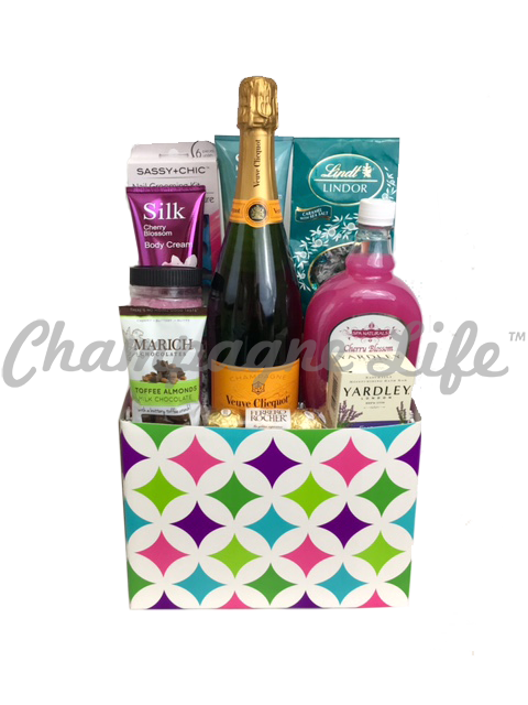 Veuve Clicquot Bubble Bath Gift Basket