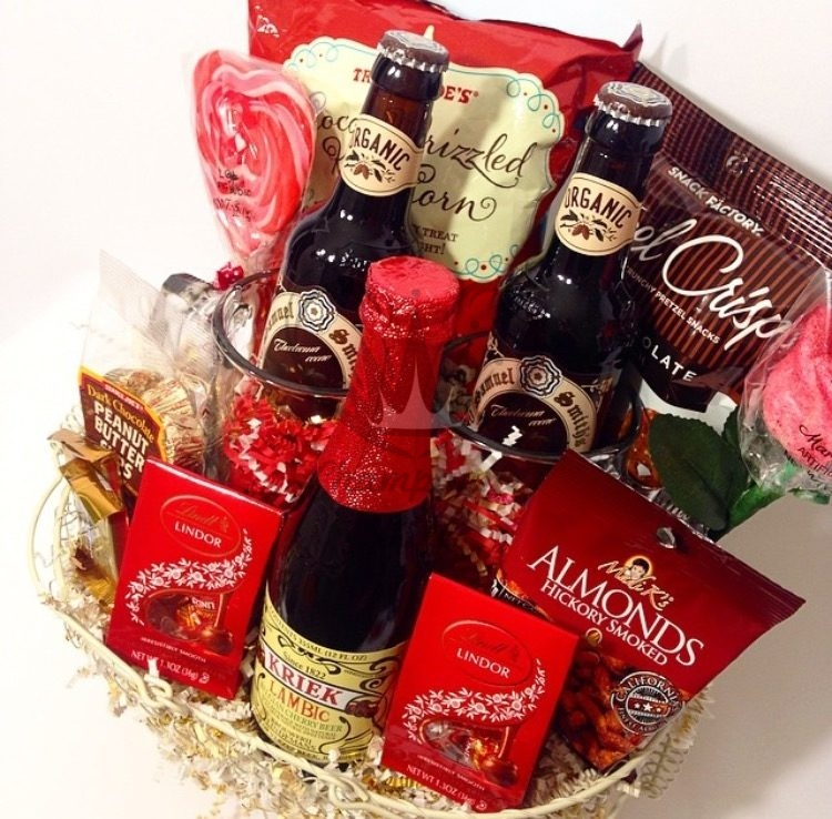 valentine's day beer gift basket, Ideas