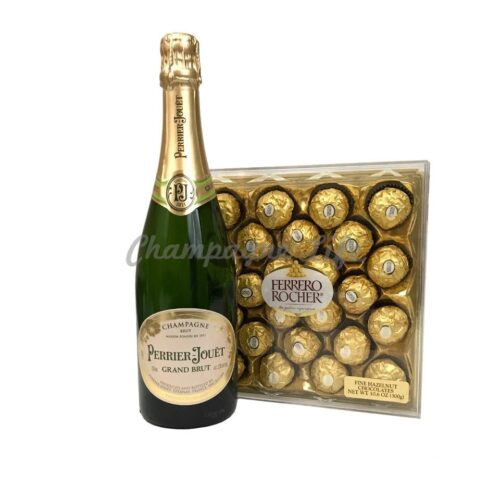 Perrier Jouet Champagne And Chocolate Gift Set