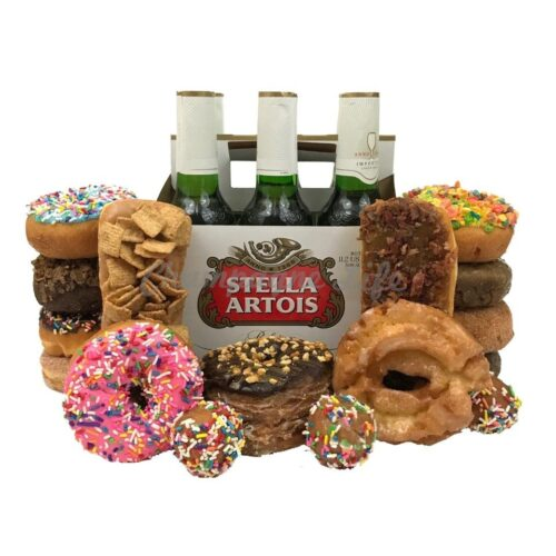 Champagne Life - Beer and Donuts Gift Set