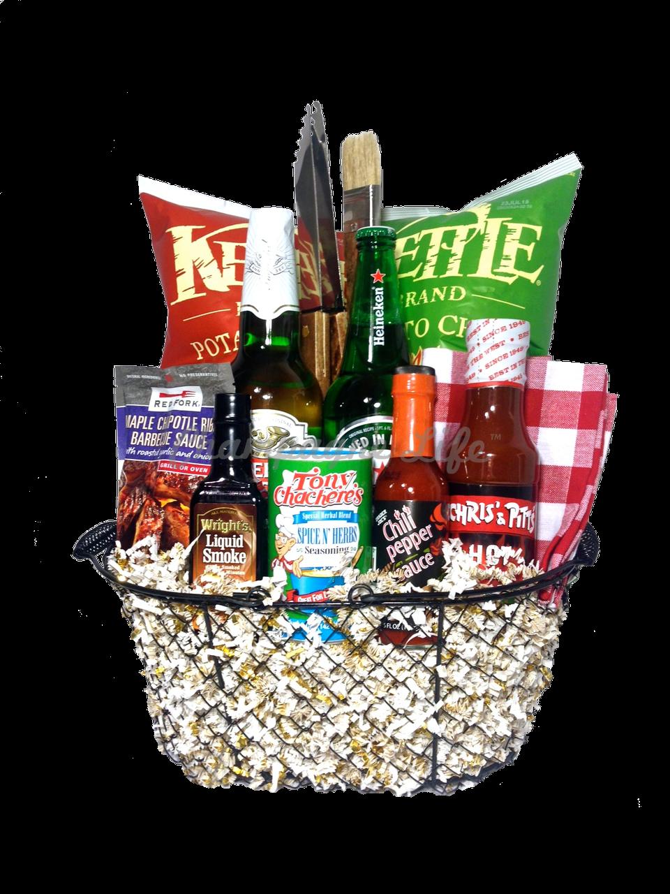 Bbq Beer Gift Basket