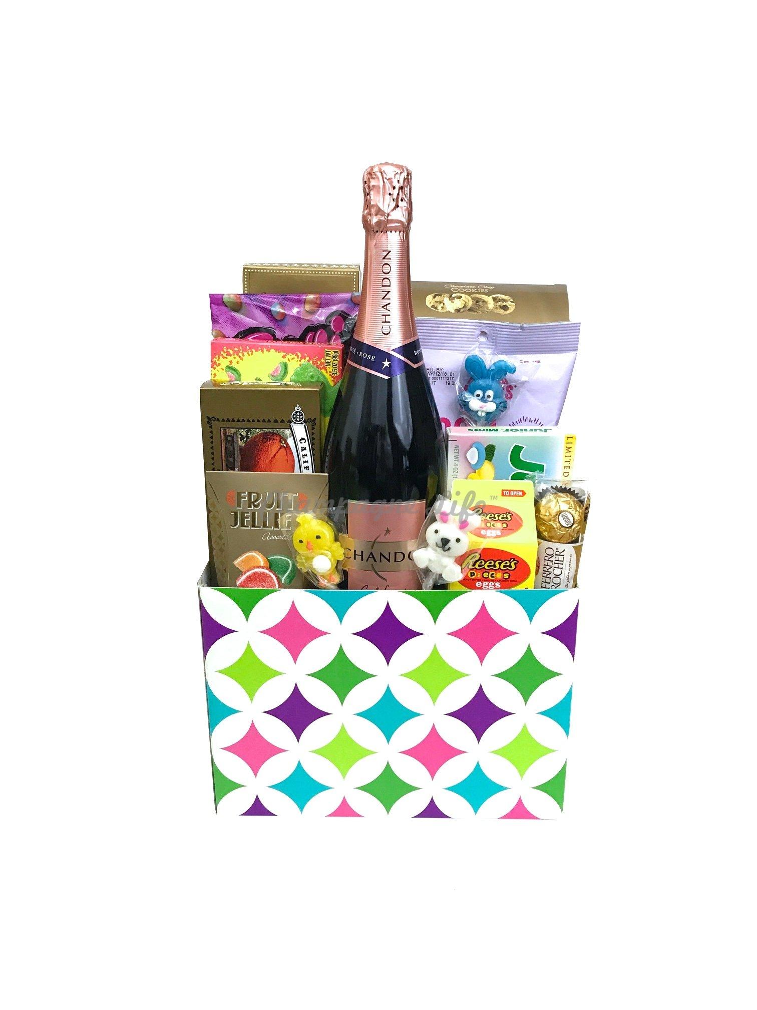 Champagne Easter Basket
