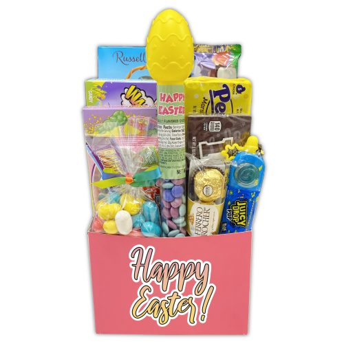 Champagne Life - Colorful Easter Candy Gift Basket