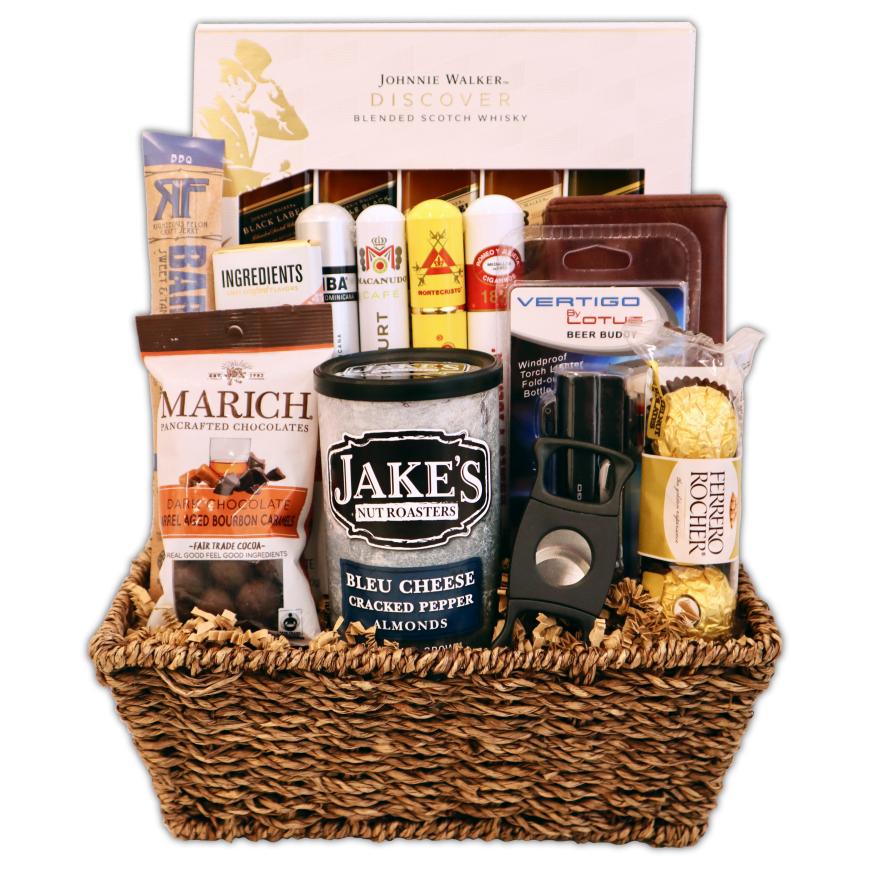 Champagne Life - Cigar Gift Basket