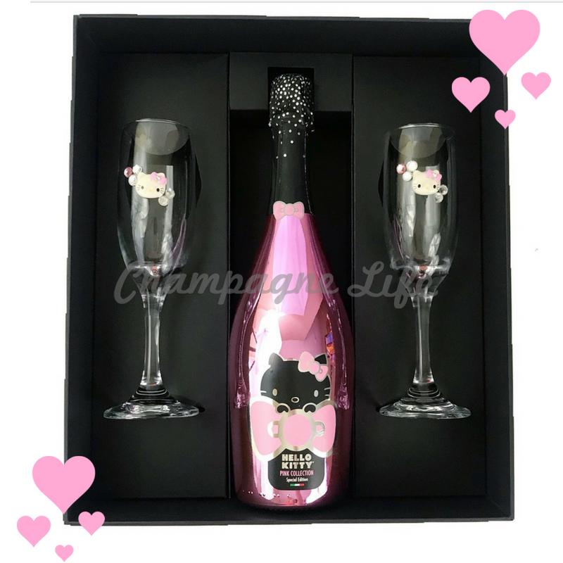 Hello Kitty Champagne Toast Set