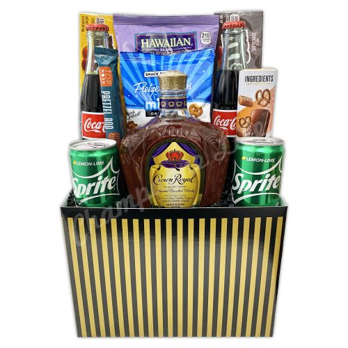 Champagne Life - Crown Royal Gift Basket