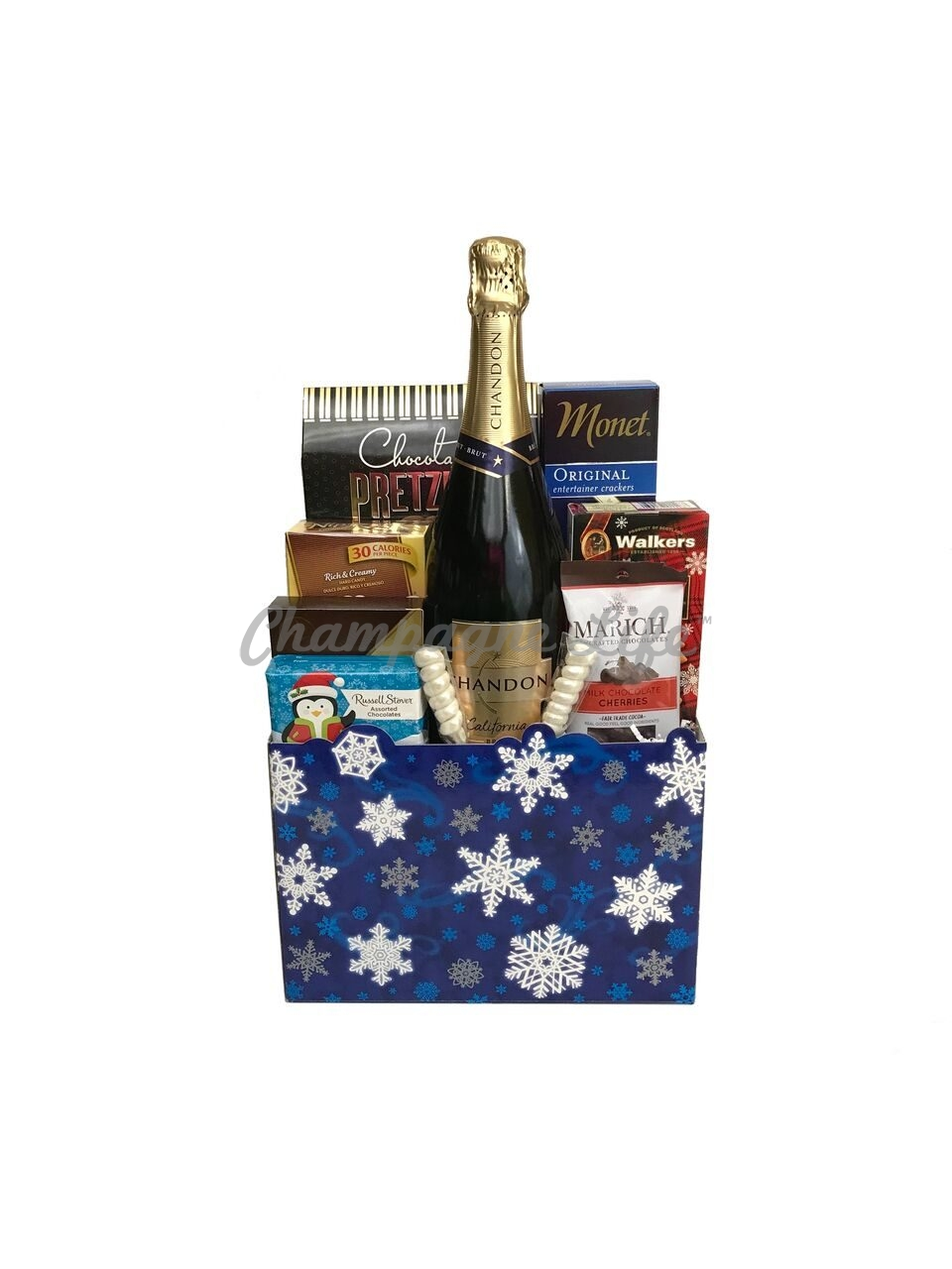 Holiday Champagne Gift Box