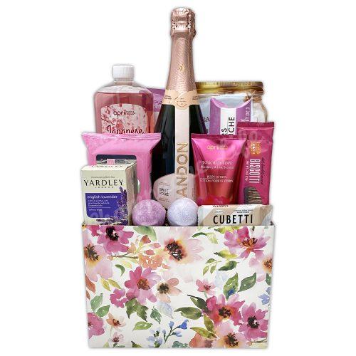 Champagne Life - Champagne Bubble Bath Gift Basket