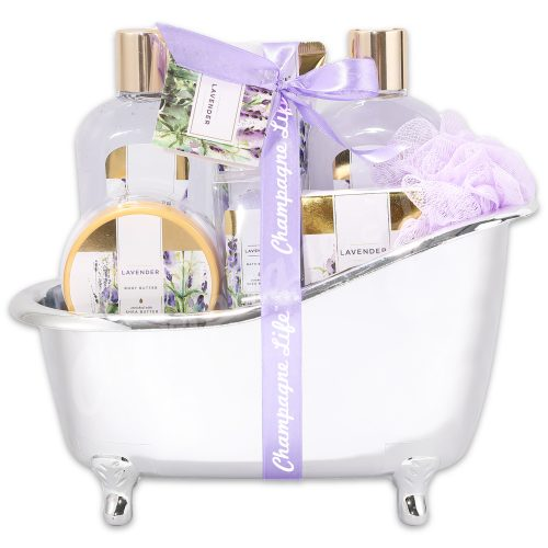 Champagne Life - Lavender Spa Relaxation Gift Basket
