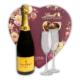 Champagne & Valentine's Day Chocolates