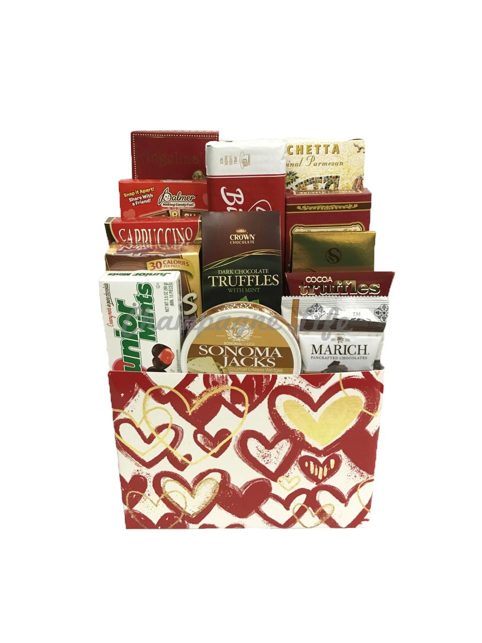 sc 1 st  Ch&agne Life Gift Baskets & Gourmet Valentineu0027s Day Gift Basket