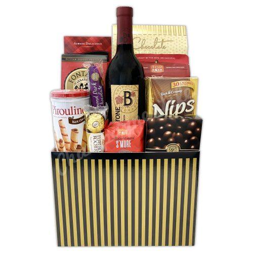 Champagne Life - Wine and Chocolate Gift Box