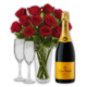 Champagne & Roses Gift Set