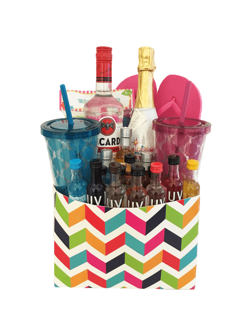 CUSTOM LIQUOR BASKET