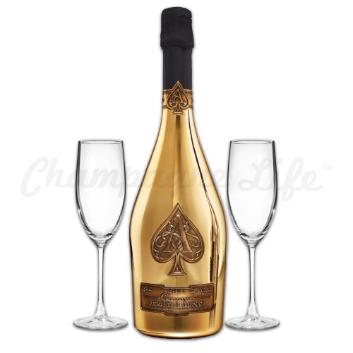 Champagne Life - Ace of Spades Brut Toast Set