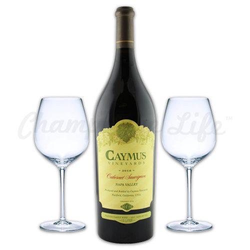 Champagne Life - Caymus Cabernet 2016 Wine Toast Set