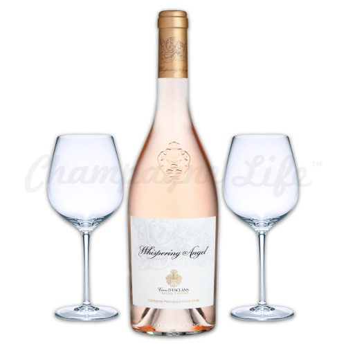 Champagne Life - Chateau D'esclans Whispering Angel Rose Wine Toast Set