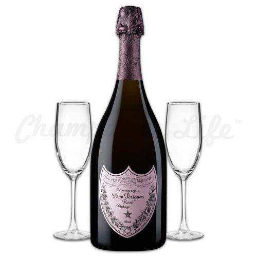 Champagne Life - Dom Perignon Rose Toast Set