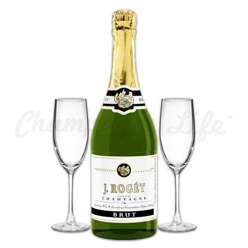 Champagne Life - J Roget Brut Toast Set
