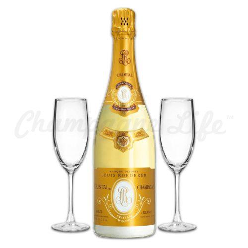 Champagne Life - Louis Roederer Cristal Brut Toast Set