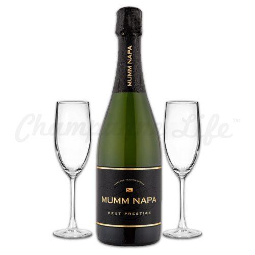 Champagne Life - Mumm Napa Brut Prestige Toast Set