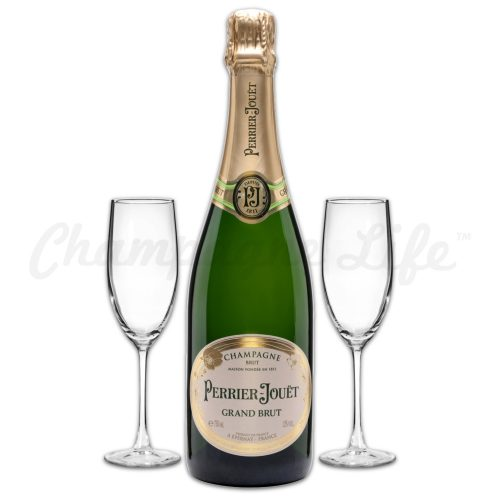 Champagne Life - Perrier Jouet Grand Brut Toast Set