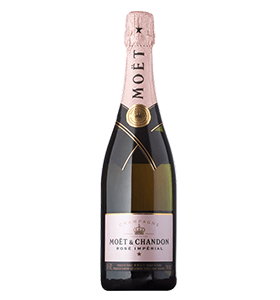 Moet & Chandon Imperial Rose Toast Set