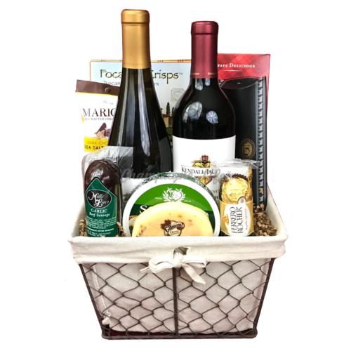 California Wine Basket