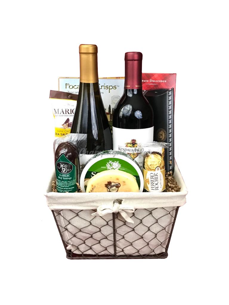 Valentines Spa Gift Baskets