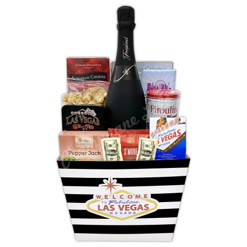 Champagne Life - Vegas Wedding Basket