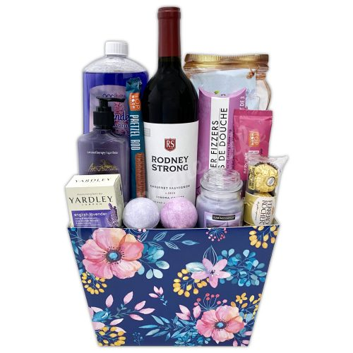 Champagne Life - Wine Relaxation Gift Basket