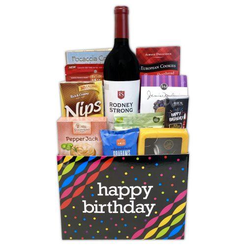 Champagne Life - Wine Birthday Gift Box