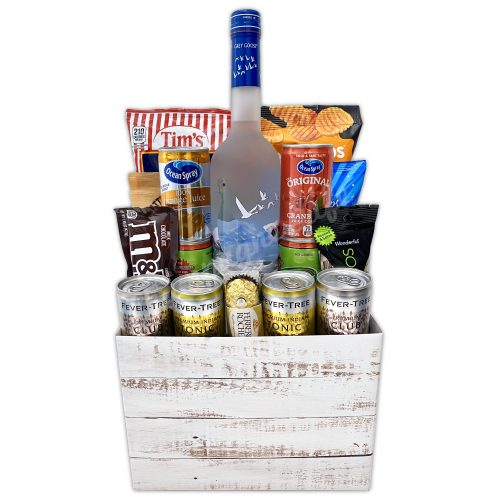 Champagne Life - Grey Goose Gift Basket