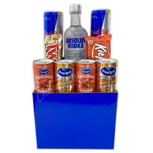 Champagne Life - Vodka & Mixers Gift Basket